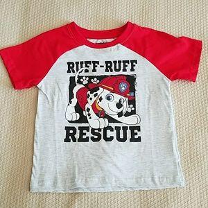 Size 4T Paw Patrol Shirt